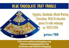 Hygienic, Handmade, Mouth-Watring  Chocolates. With 26 chocolate  pieces.To order whatsapp  us- 9582115956