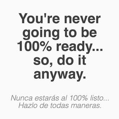 """Double-tap if this is you! #Snack: there's always going to be room for improvement in nearly anything you do in life (unless you're Michael Phelps). But I'm learning to not let that gap between """"where I am now"""" and """"where I want to be soon"""" discourage me from taking healthy risks. (traducción abajo) - For some, this means launch that business knowing that you'll have to make some changes. Or, chase your new career knowing that it will be a learning process. Or, GO to the beach and be PROUD…"""