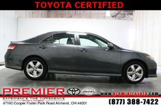 Browse pictures and detailed information about the great selection of 169 new Toyota cars, trucks, and SUVs in the Premier Toyota of Amherst online inventory. Used Toyota Camry, Toyota Camry For Sale, 2011 Toyota Camry, Toyota Cars, North Olmsted, Avon Lake, North Ridgeville, Cleveland Ohio, Scion