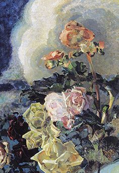 Art — unhistorical: Roses and Orchids (1894) & Yellow...