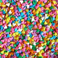 multi heart sprinkles