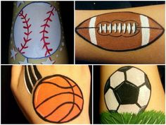 78 Best ideas about Easy Face Painting on Pinterest | Simple face ...