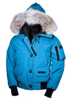 Donne Canada Goose Chilliwack Bomber Giacca Blu
