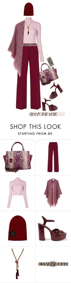 """Rock the Vote in Style'"" by dianefantasy ❤ liked on Polyvore featuring Leatherbay, A.L.C., Marc Jacobs, GUESS, Gucci, Skinnydip, polyvorecommunity, polyvoreeditorial and rockthevote"