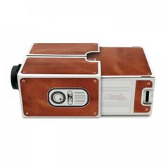 Innovative Full Function DIY Cardboard Smartphone Projector 2.0 Simple Installationfor Version Home Party