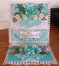 Chocolate Crafts and Bears, Oh My: Marianne Designs Sympathy Card
