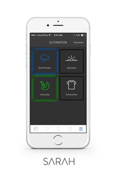 Smart Home, All In One, Apps, Phone, Design, Technology, Roof Window, Jalousies, Smart House