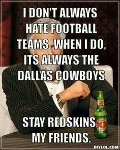 Stay Redskins