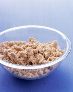 Crumb Topping - Martha Stewart Recipes. Yummy for pies or crumbles.