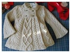 super ideas for crochet baby jacket pattern sweater coats Baby Knitting Patterns, Knitting For Kids, Baby Patterns, Free Knitting, Knitting Needles, Crochet Cardigan Pattern, Knit Or Crochet, Crochet Baby, Crochet Jacket