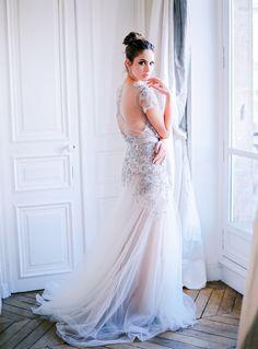 Photography: Le Secret DAudrey - lesecretdaudrey.com  Read More: http://www.stylemepretty.com/destination-weddings/2015/03/24/organic-elegant-paris-wedding-inspiration/