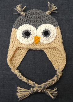 Twinkle and Twine: Pinspiration: Crocheted Owl Hats