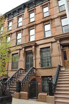 Townhouses in New York - me encantan estas casitas