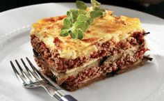 mousaka.. My favorite food from Greece