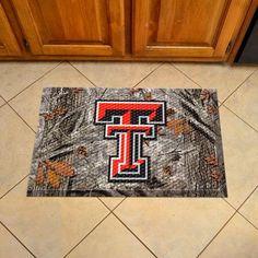Texas Tech University Scraper Mat - Camo