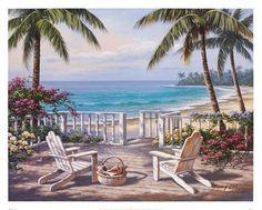 Vista costera Láminas por Sung Kim en AllPosters.es