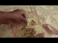 Little Darlings Graphic45 Cardstock Mini Album - YouTube