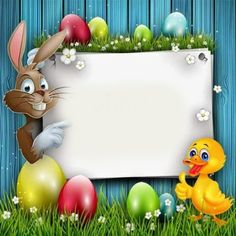 wish you a very happy Easter James Boarder Designs, Page Borders Design, Easter Picture Frames, Easter Party Games, Boarders And Frames, Plastic Canvas Ornaments, Flamingo Birthday, Easter Pictures, Christening Invitations