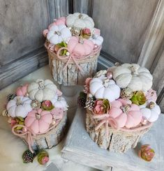 In this DIY tutorial, we will show you how to make Christmas decorations for your home. The video consists of 23 Christmas craft ideas. Pink Pumpkins, Fabric Pumpkins, Fall Pumpkins, Pumpkin 1st Birthdays, Pumpkin First Birthday, Baby In Pumpkin, Little Pumpkin, Baby Shower Napkins, Pink Halloween