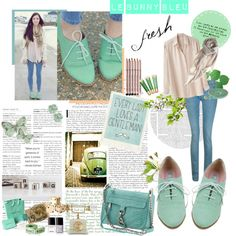 blue, blue, and more beautiful tealy/whispery white-ish tiffany blue!!  oxfords. oxfords.  maxfield oxfords.