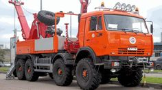 KAMAZ tow wrecker Road Transport, Public Transport, Semi Trailer Truck, All European Countries, Large Truck, Road Construction, Rescue Vehicles, Heavy Truck, Emergency Vehicles