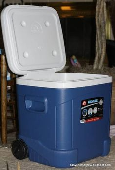 60qt. Ice Cube Mash Tun Build - $cheap and simple - Home Brew Forums