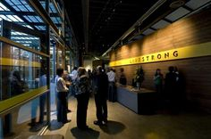 Contemporary, Bright and Dynamic Offices for Lance Armstrong Foundation