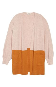 010ecec81b6 Madewell Edgewater Colorblock Cardigan (Regular   Plus Size)
