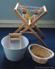 Montessori washing cloths