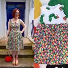 It's official: I have the dress sense of a toddler. I made a @byhandlondon Kim…