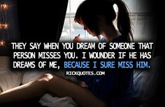 I miss him.I have her, but I miss him, us. Cute Quotes, Great Quotes, Funny Quotes, Inspirational Quotes, Girl Quotes, Missing You Quotes For Him, Quotes To Live By, I Miss My Bestfriend, Bestfriends