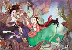 Yakuza Web Na Young Wu (Obsidian) rediseña personajes al estilo coreano - Yakuza Web