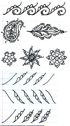 henna step by step - Google Search
