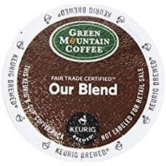 Green Mountain Coffee K-Cup Portion Pack for Keurig K-Cup Brewers, Our Blend (Pack of 96). >>> You can find more details by visiting the image link. (This is an affiliate link) #SingleServeCapsulesPods