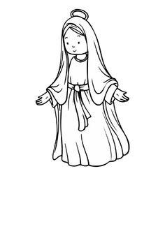Imagen de http://www.pekedibujos.com/Dibujos/culturas/virgen/virgen4.gif.