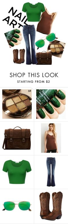 """""""Simply Green"""" by nightraven13 ❤ liked on Polyvore featuring Dr. Martens, Forever 21, Diesel, RetroSuperFuture and Ariat"""