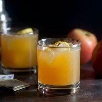 Earl Grey Apple Cider Cocktail | Healthy. Delicious.