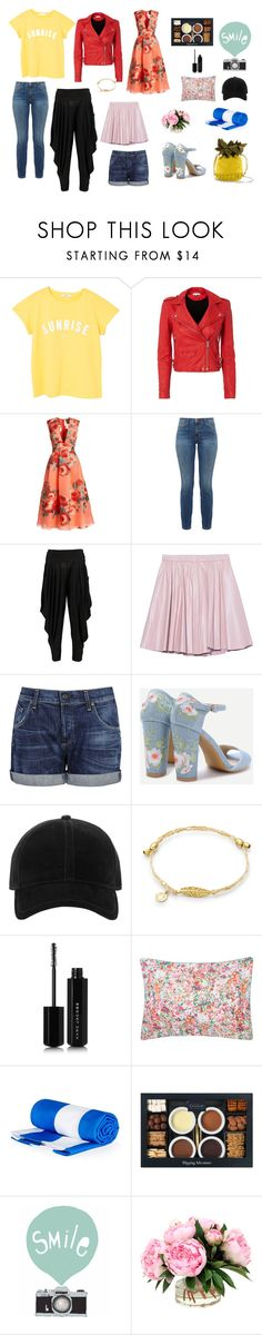 """""""fashion,makeup,accesories"""" by azra-99 ❤ liked on Polyvore featuring MANGO, IRO, Lela Rose, Current/Elliott, Boohoo, 2NDDAY, Citizens of Humanity, rag & bone, Marc Jacobs and Yves Delorme"""