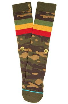 The Liberation Socks in Green by Stance Socks