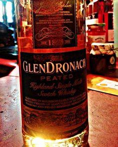 GlenDronach Peated  #whisky #glendronach #distillery #peated #sherry #butt #finish #highland #scotch