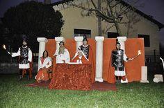 Particolare del presepe vivente del Gruppo Arti e Tradizioni di Canonica d'Adda (2014)