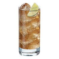Most refreshing.  Captain Morgan spiced rum, Ginger Ale, slice of lime. Serve in a tall glass.