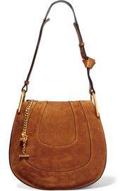 ChloéHayley small suede shoulder bag