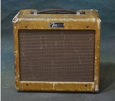 Fender Champ Amp 5F1 | Tex-Mex Guitars Fender Guitar Amps, Rion, Vacuum Tube, Tex Mex, Champs, Rock N Roll, 1980s, Tweed, Blues