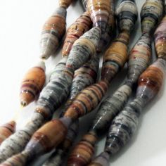 Seal Those Paper Beads. A quick tip to do multiple beads at once.