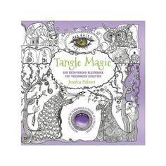 Tangle Magie kleurboek voor volwassenen voordelig te koop bij Hobbyklei   #kleurboek#kleurenvoorvolwassenen#TangleMagie#cadeauvoorhaar#