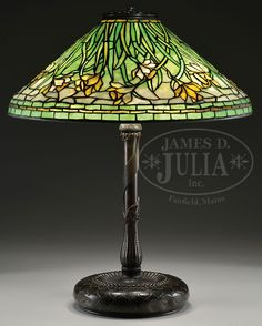 Lot 2349. TIFFANY STUDIOS DAFFODIL TABLE LAMP. (68100)