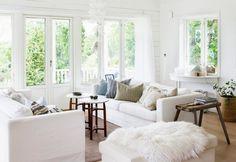 Post: El estilo coastal cottage --> cabaña estilo nórdico, casa de la playa, Casa de madera, decoración en blanco, decoración tonos naturales, El estilo coastal cottage, estilo campestre nórdico (nordic country), estilo nórdico escandinavo