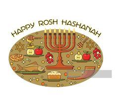 Happy Rosh Hashanah Greetings Rosh Hashanah Greetings, Happy Rosh Hashanah, For Facebook, Kids Rugs, Cards, Image, Kid Friendly Rugs, Maps, Playing Cards