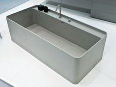 Rechteckige Freistehende Badewanne 160 : Freistehende rechteckige Badewanne SYN  Badewanne - LASA IDEA